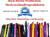 Mask Buckle Production - Maskenschnallenproduktion