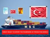 TURKEY READY TO EXPORT THE FRAMEWORK OF PRODUCTION MODELS