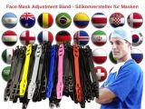Face Mask Adjustment Band - Silikonversteller für Masken