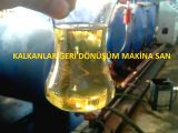 Construction of 10.000 liter waste engine oil distillation machine