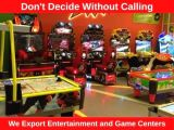 We Export Entertainment and Game Centers