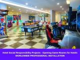 Hotel Social Responsibility Projects - Opening Game Rooms for Hotels
